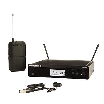 Shure BLX Series- Cardioid Lapel Rackmountable Wireless