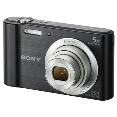 DSC-W800 Black Digital Camera