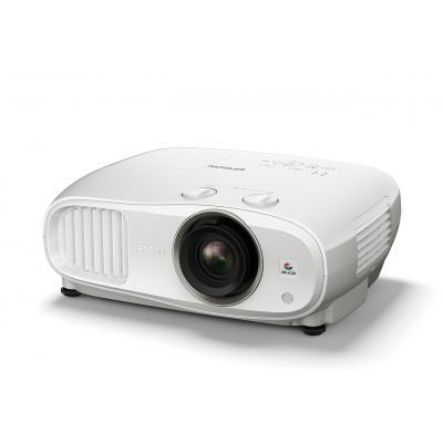Epson EH-TW6800 - 3LCD projector - 3D - 2700 lumens - 1920 x 1080 - 16:9 - HD 1080p - LAN