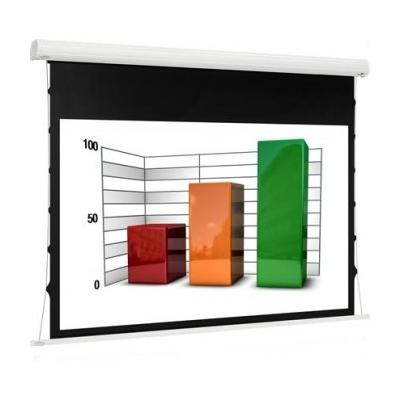 "Euroscreen - Diplomat Tensioned - 150cm x 84cm - 68"" Diag - 16:9 - Electric Tab Tensioned Screen"