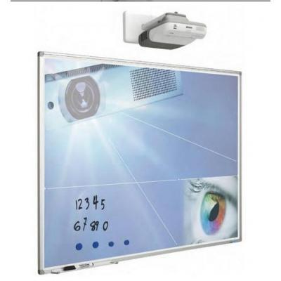 SMIT Visual 11103.346 Whiteboard - 192cm x 120cm - 16:10 - Projector Not Included