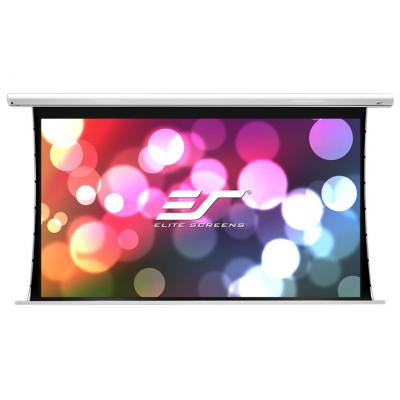 Elite Saker - 186cm x 104cm - 16:9 - Tab Tensioned Electric Projector Screen