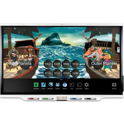 SMART 7286 4K 86'' Interactive Display with iQ & SLS Learning Suite Software